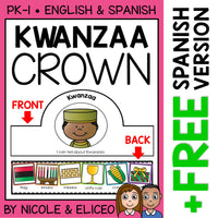 Kwanzaa Activity Crown Craft