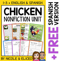 Chicken Activities Nonfiction Unit