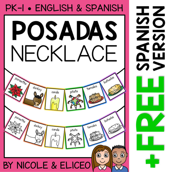 Las Posadas Christmas Activity Necklace Craft