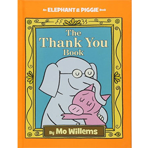 The Thank You Book (Ages:4-8)
