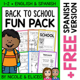 Back to School Activity Fun