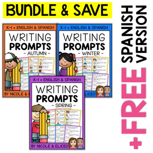 Seasonal Writing Prompt Bundle