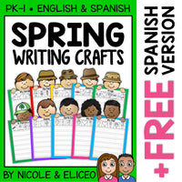 Spring Writing Activity Crafts