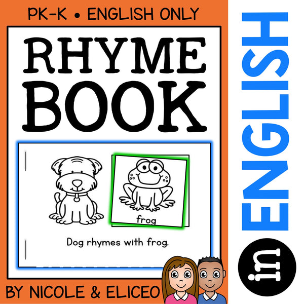 Interactive Rhyming Books