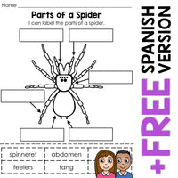 Parts of Living Things Activity Bundle