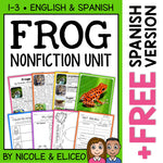 Frog Activities Nonfiction Unit