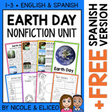 Earth Day Activities Nonfiction Unit