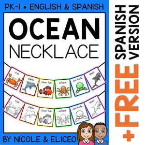 Ocean Animal Activity Necklace Craft