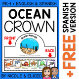 Ocean Animal Activity Crown Craft