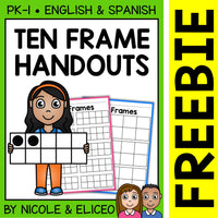 FREE Math Ten Frames