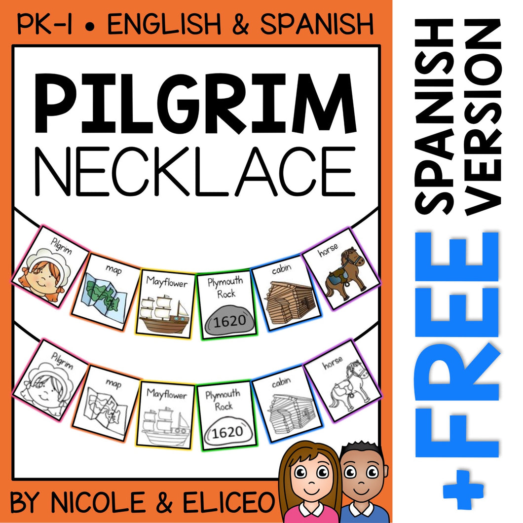 Pilgrim Activity Necklace Craft