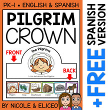 Load image into Gallery viewer, Pilgrim Activity Crown Craft