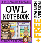 Owl Interactive Notebook Activities