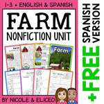 Farm Activities Nonfiction Unit