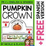 Pumpkin Life Cycle Activity Crown Craft