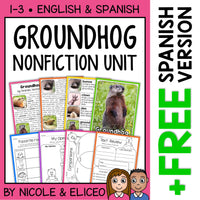 Groundhog Activities Nonfiction Unit