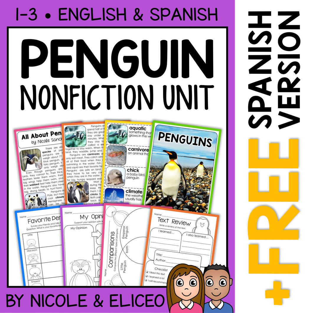 Penguin Activities Nonfiction Unit