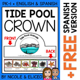 Tide Pool Animal Activity Crown Craft