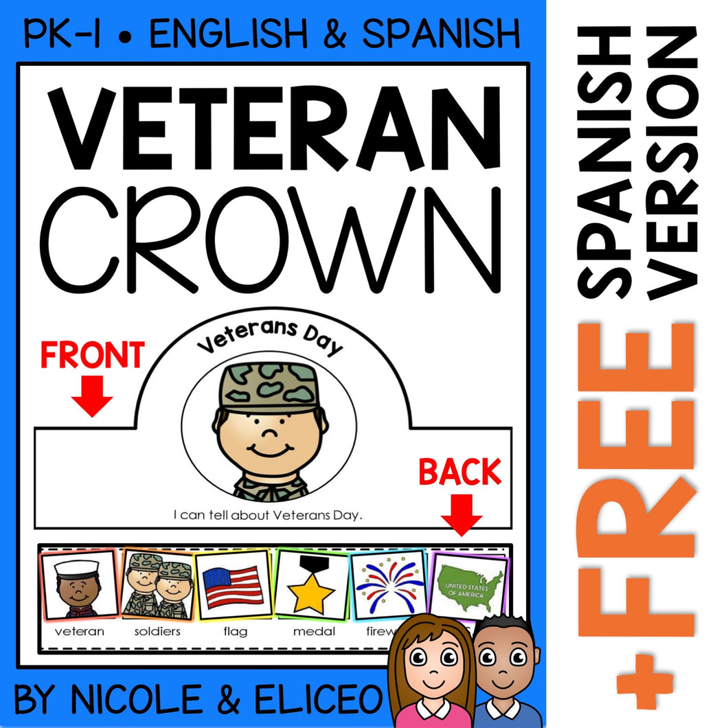 Veterans Day Activity Crown Craft