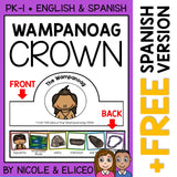 Wampanoag Activity Crown Craft