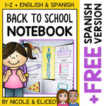 Back to School Interactive Notebook Activities