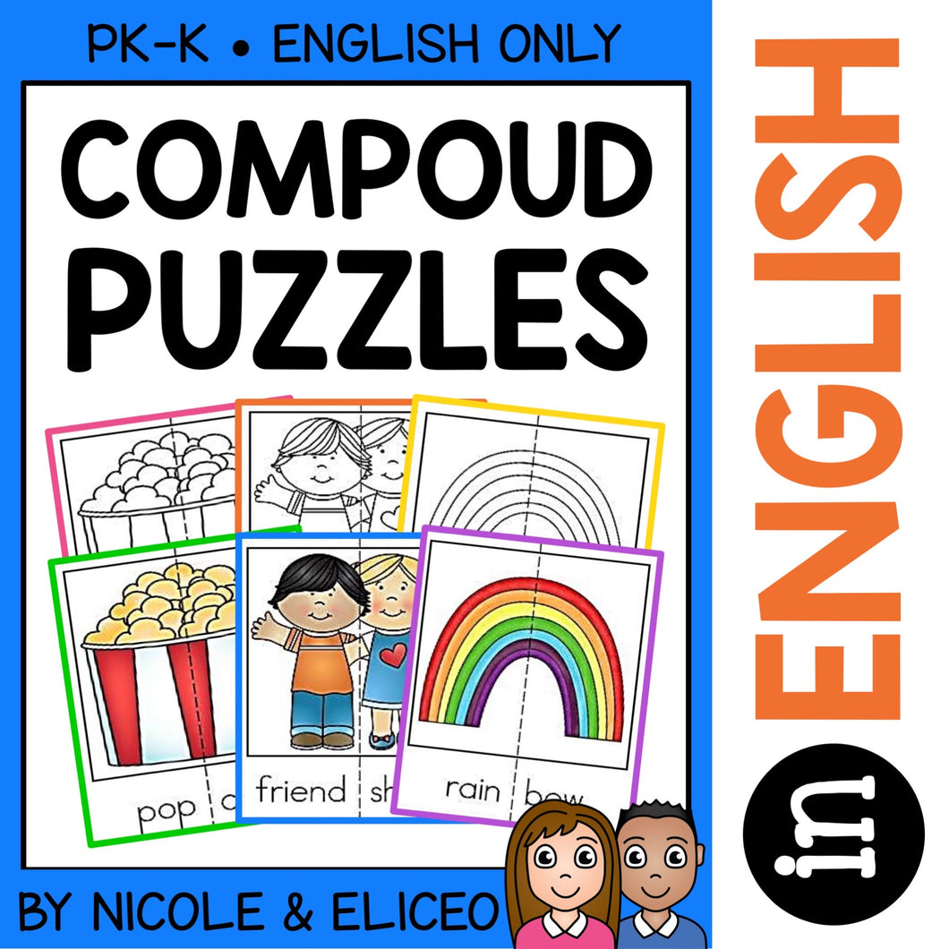 Compound Word Activity Puzzles