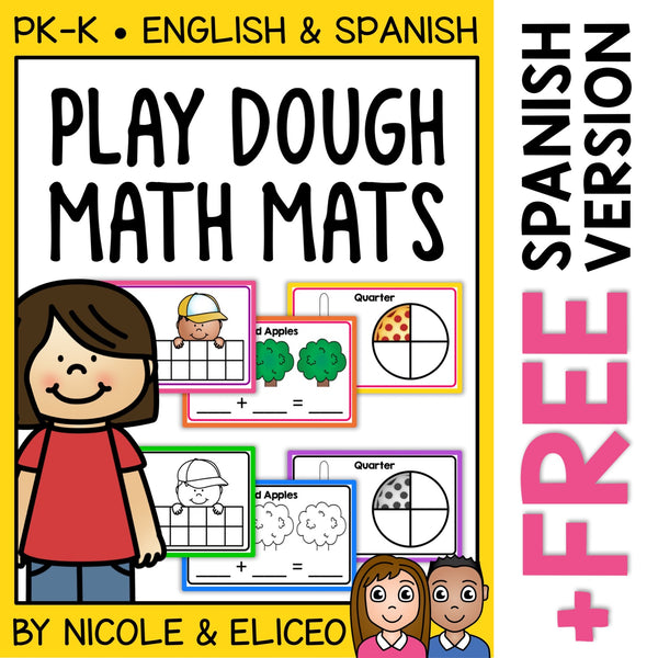 Playdough Mats Numbers