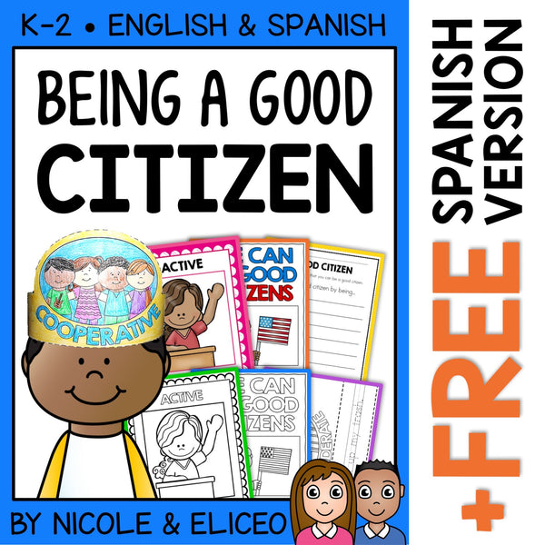 Character Education Good Citizenship Activities