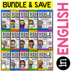 Bible Lessons Notebook Bundle