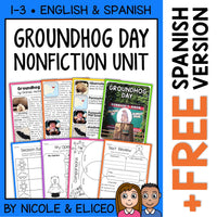Groundhog Day Activities Nonfiction Unit