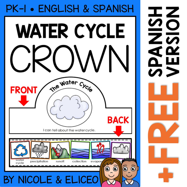 Water Cycle Activity Crown Craft