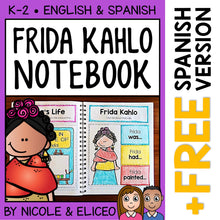 Load image into Gallery viewer, Frida Kahlo Interactive Notebook Activities
