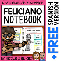 Jose Feliciano Interactive Notebook Activities