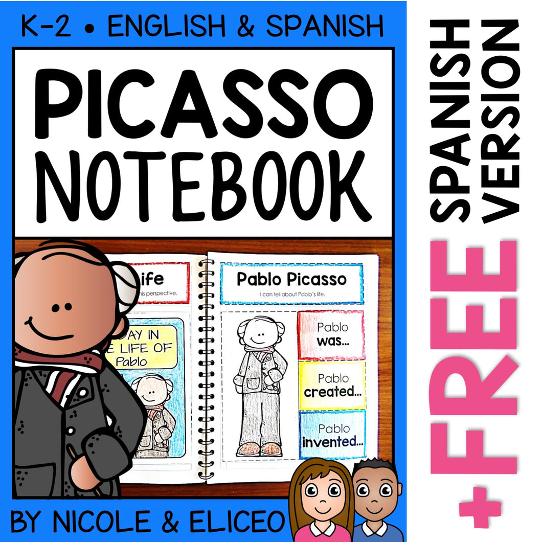 Pablo Picasso Interactive Notebook Activities