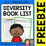 FREE Diversity Activities and Book List