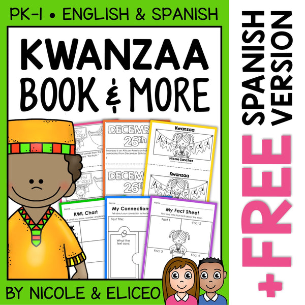 Kwanzaa Activities and Book