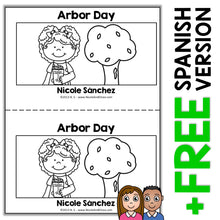 Load image into Gallery viewer, Arbor Day Book Activity