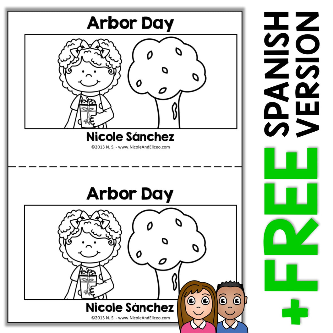 Arbor Day Book Activity