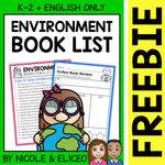 FREE Earth Day Activities and Book List