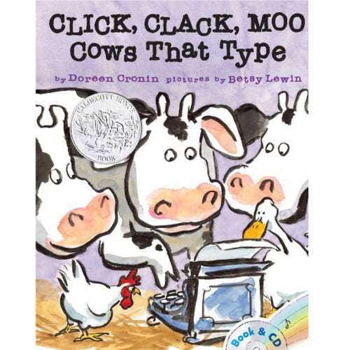 Click, Clack, Moo: Cows That Type (Ages:3-8)