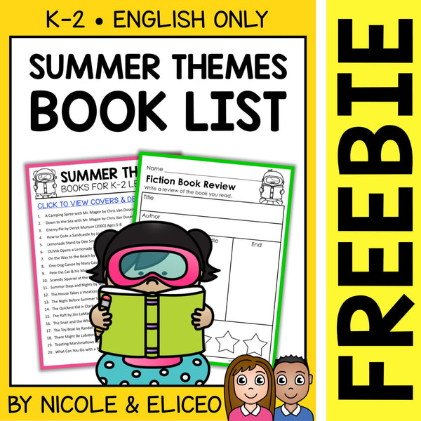 FREE Summer Activities and Book List