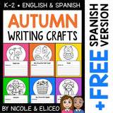 Fall Writing Prompt Crafts