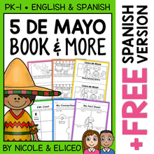 Load image into Gallery viewer, Cinco de Mayo Activities and Book