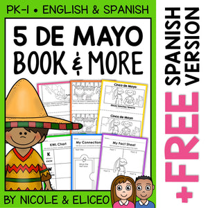 Cinco de Mayo Activities and Book