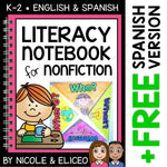 Nonfiction Literacy Interactive Notebook Activities