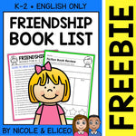 FREE Friendship Activities and Book List