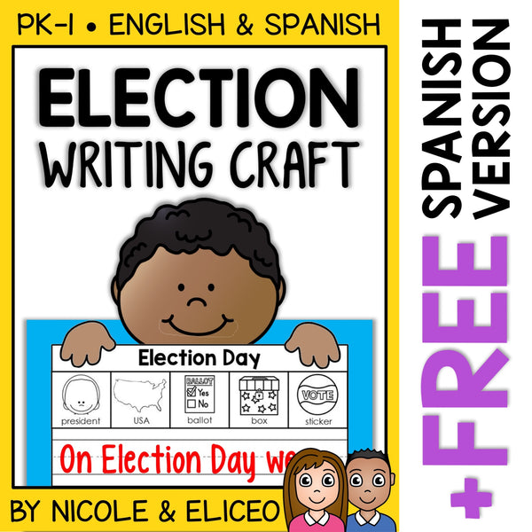 Election Day Writing Craft Activity