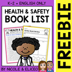 FREE Health and Safety Activities and Book List