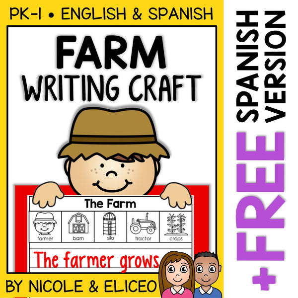 Farm Writing Craft Activity