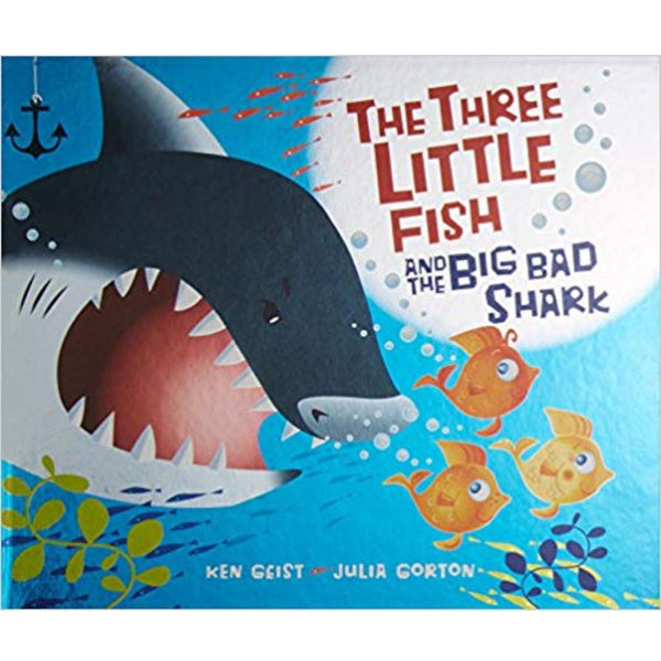 The Three Little Fish and the Big Bad Shark (Ages:4-8)
